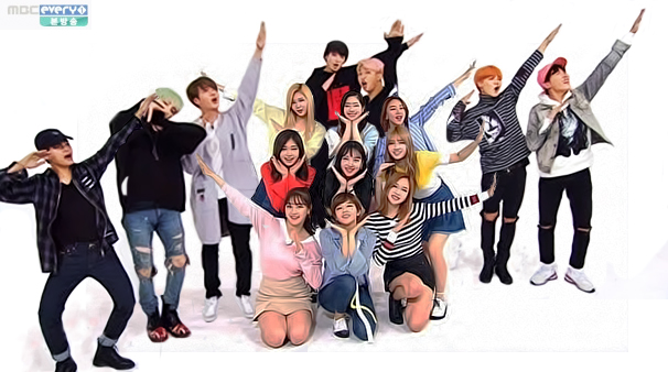 BTS and Twice on Weekly Idol MBC by Slayxbuteras on DeviantArt