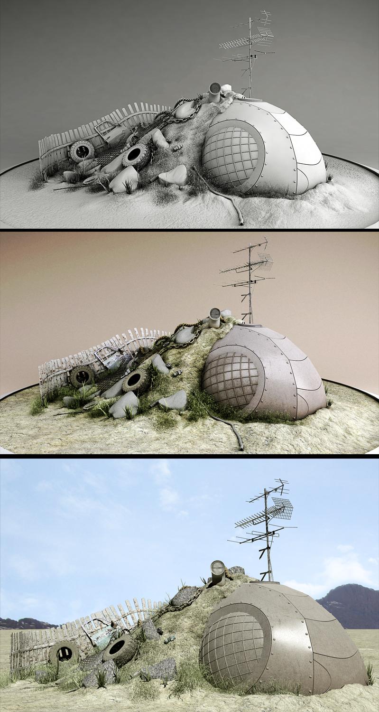 Redneck Bomb Shelter by tonare