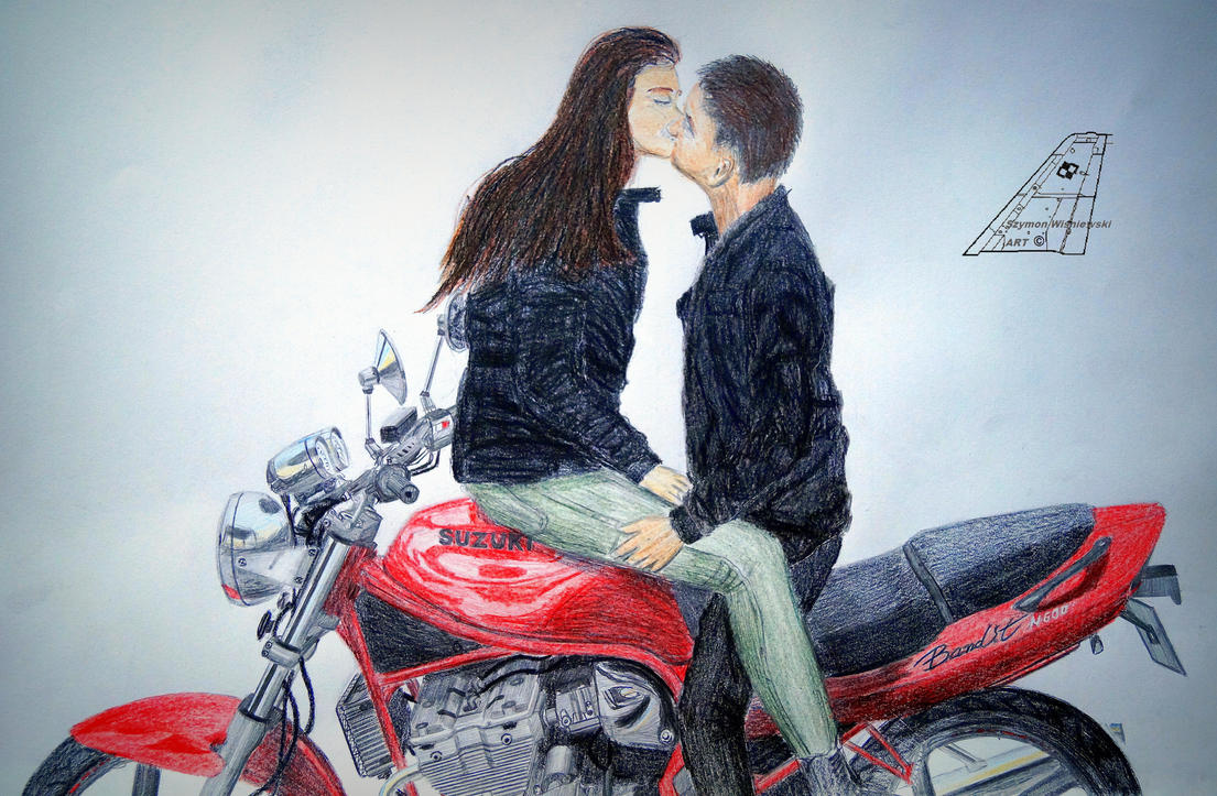 One love one motorcycle by stachu96