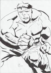 Hulk - Practise drawing
