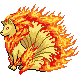 Ninetails On Fire by EvolifanNo1