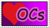 Love OCs stamp by izka197