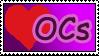 Love OCs stamp by izka197