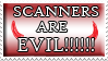 Evil scanner stamp by izka197