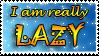 LAZY stampie