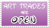 Art Trades Open Stamp by izka197