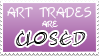Art Trades Closed Stamp by izka197