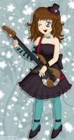 Yayoi as Mio :c: by izka197