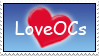 LoveOCs stamp