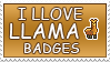 Love Llamas stamp by izka197