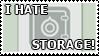 Hate Storage Stamp