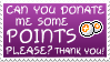 Points Please Stamp