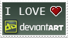 DA love stamp by izka197