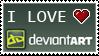 DA love stamp by izka197
