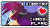 I support Chaos-Flare by izka197
