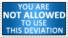 Not Allowed Stamp by izka197