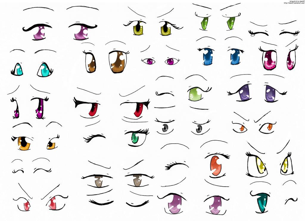 Anime Eyes 2 by izka197
