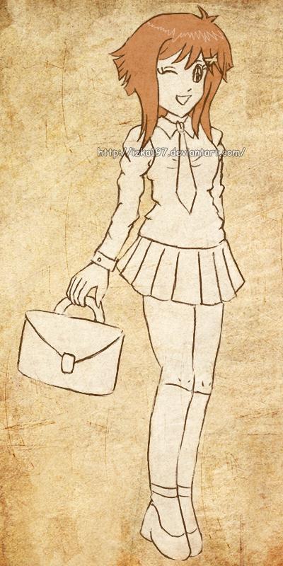 Rexanne sketch :c: by izka197