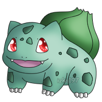 001: Bulbasaur by izka197
