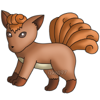 37: Vulpix by izka197