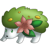 492: Shaymin by izka197