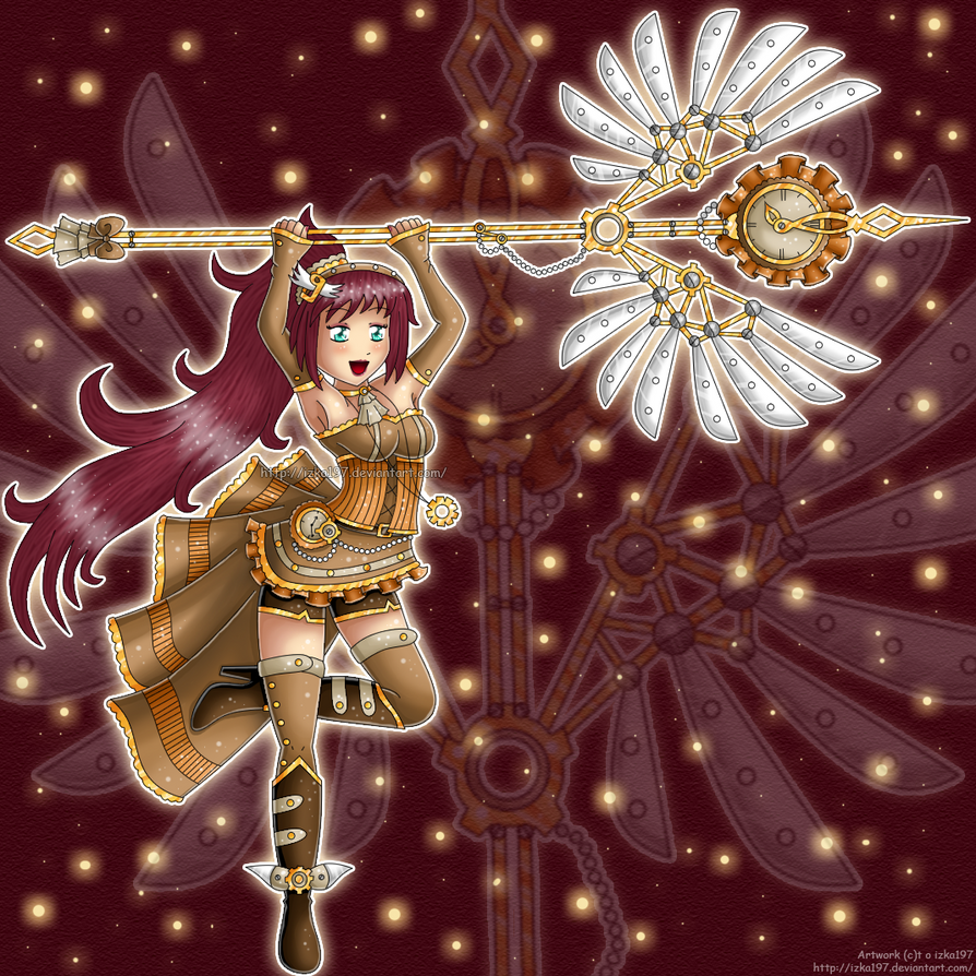 .:: Steampunk Queen Adelle ::. by izka197