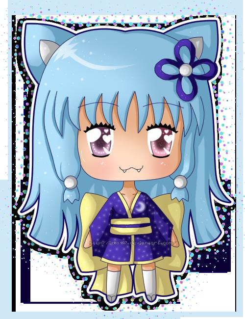 Chibi Kimono Ami by izka197