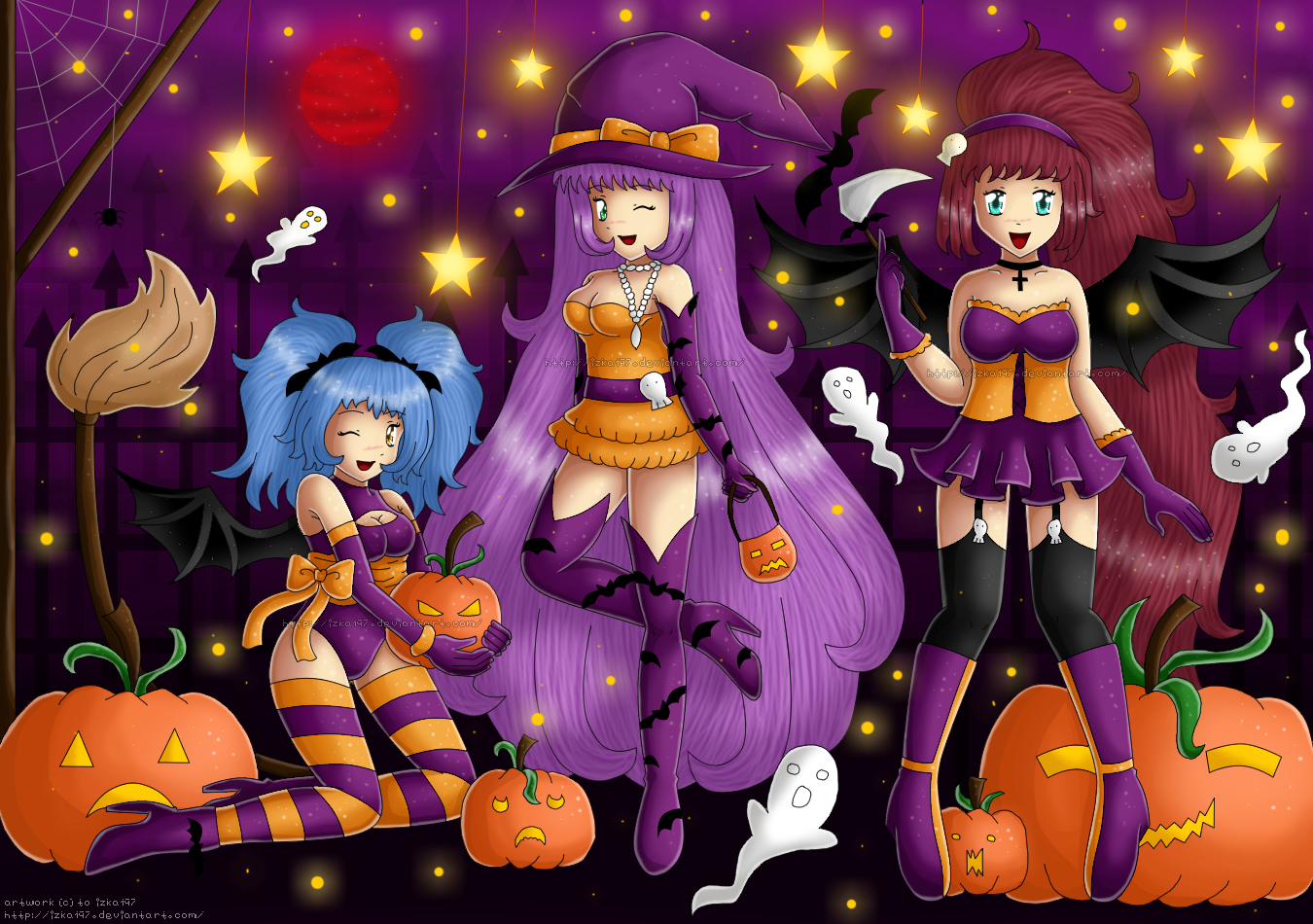 Halloween 2011 by izka197
