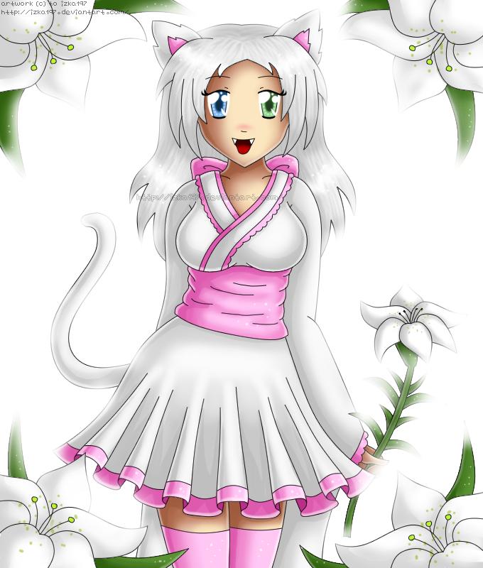 White Lily by izka197