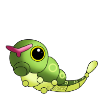 010: Caterpie by izka197