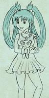 Akanai sketch by izka197