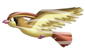 Pokedex 018: Pidgeot- Aerial Ace by izka197