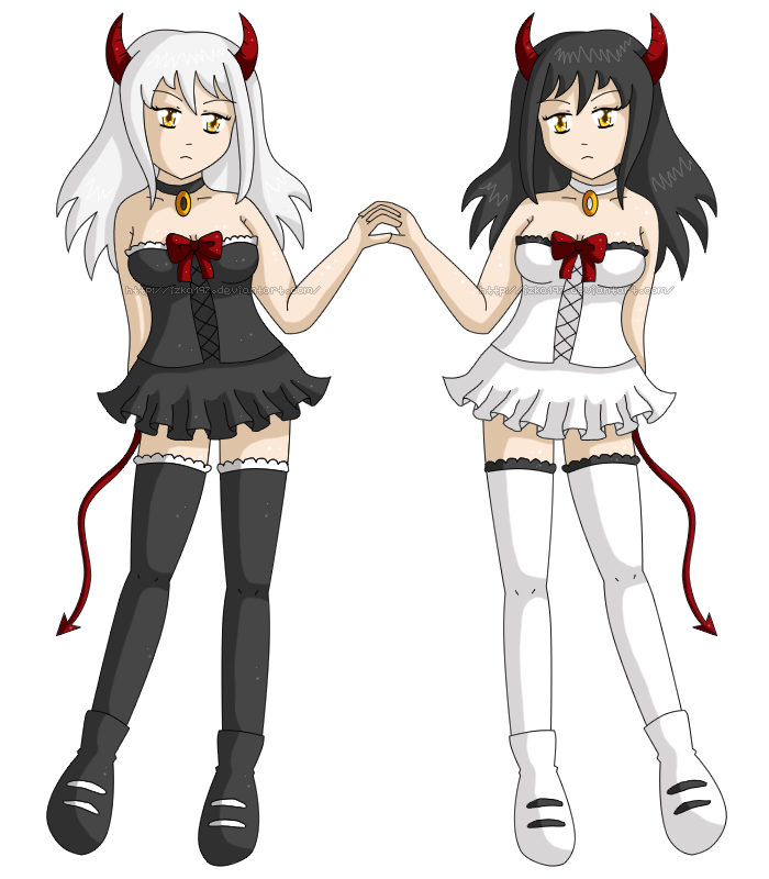 [OC] Devil Twins by izka197