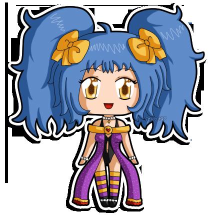 Mini- chibi Mei by izka197