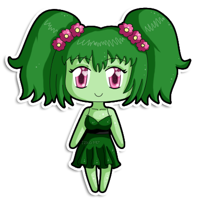 [C] Mini chibi Marjolaine by izka197