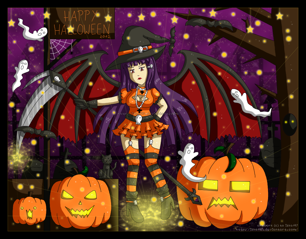 Halloween 2012 by izka197