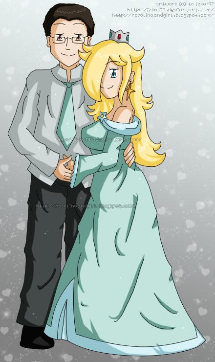 [Commission] Jeremie and Rosalina by izka197