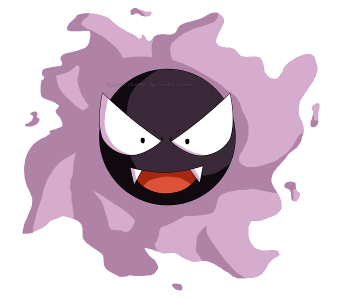 Pokedex #092: Gastly by izka197