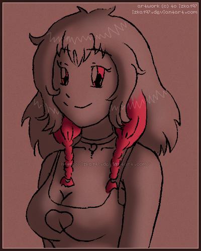 [Commission] Kiyomi -sketch- by izka197