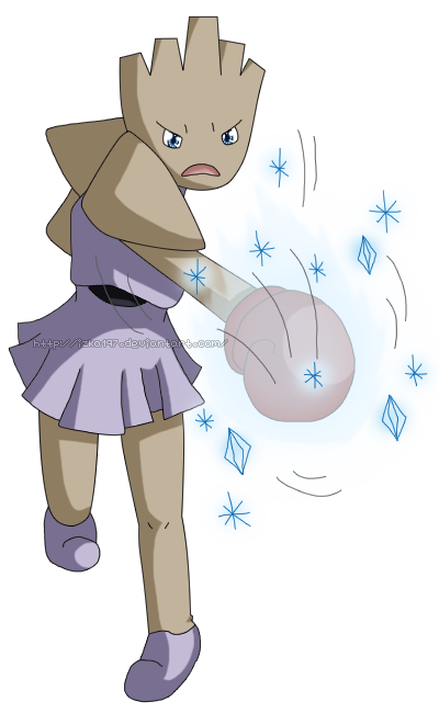 [Commission] Pokedex #107 Hitmonchan: Ice Punch by izka197