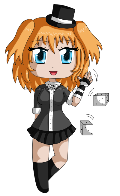 [Commission] Chibi Luck by izka197