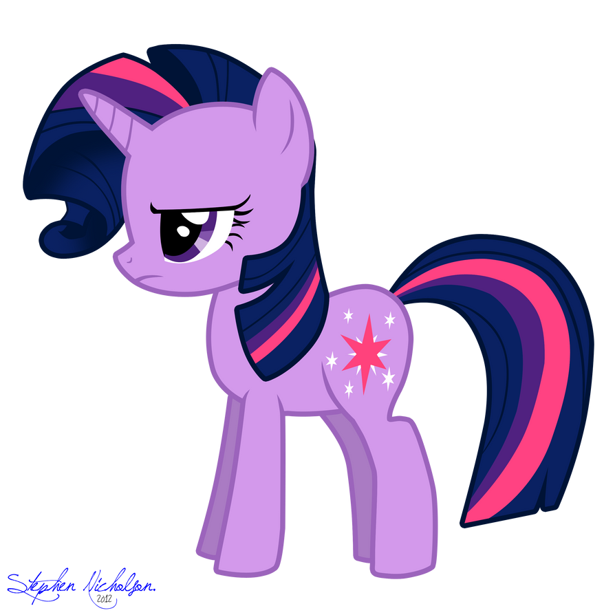 Rarity Forelock Twilight Sparkle by SNX11