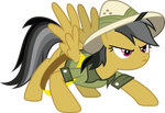 Daring Do Braces for Action