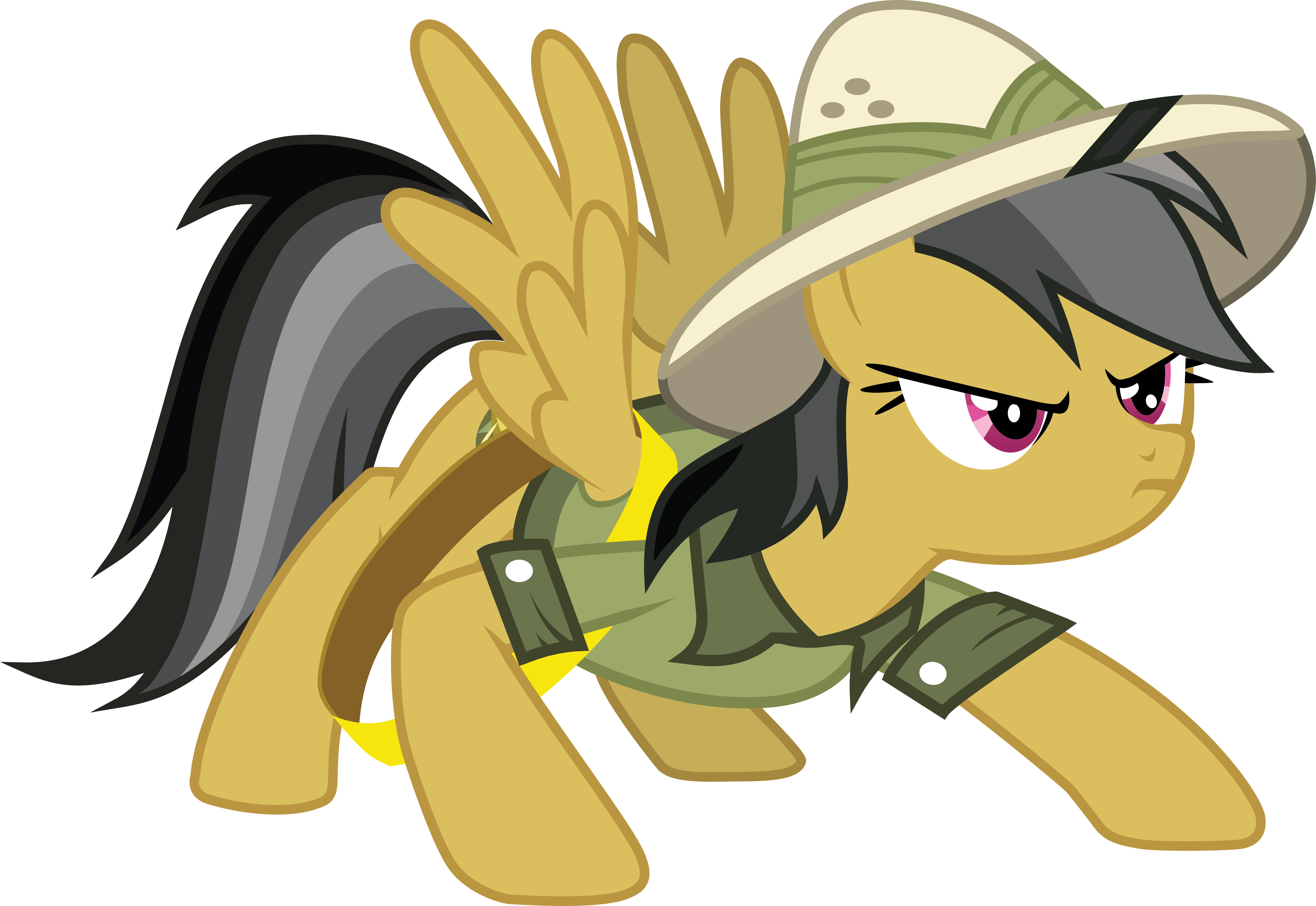 Daring Do Braces for Action by SNX11 on DeviantArt