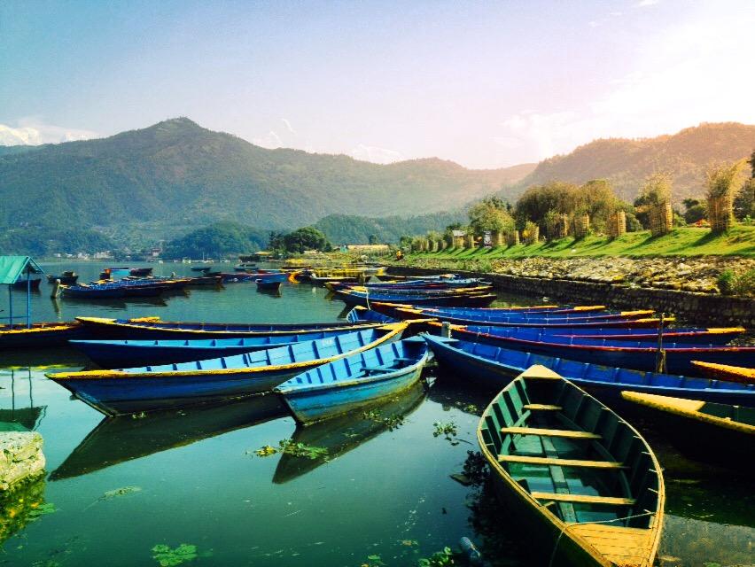 Boats by ManishaS