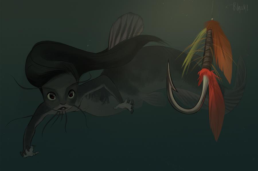 Catfish Mermay by Rilguia