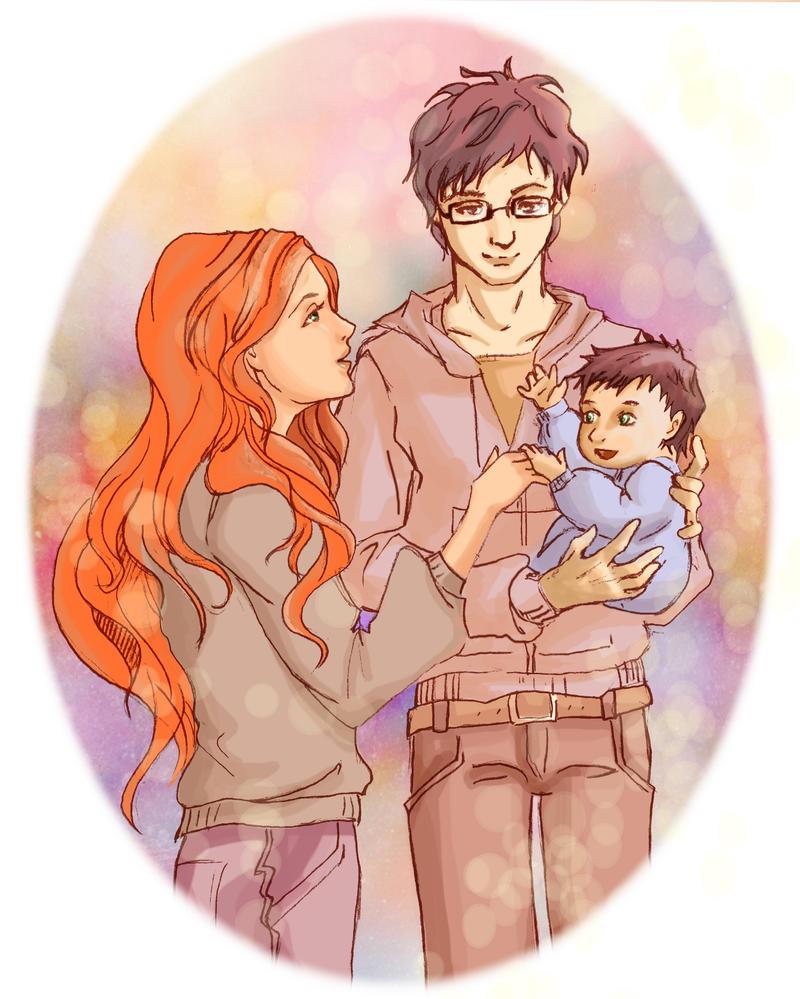 Potter Family by Chidori-aka-Kate