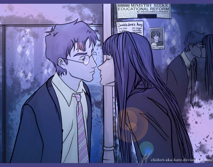 First kiss... by Chidori-aka-Kate