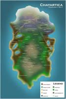 .:Steampunk-Fantasy World Map:. by PrennCooder