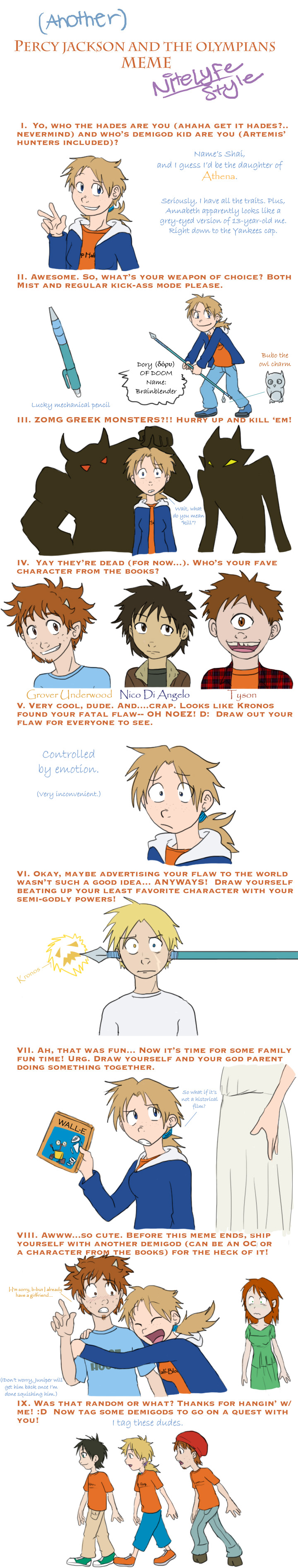 Percy Jackson Meme of AWESOME by demonoflight
